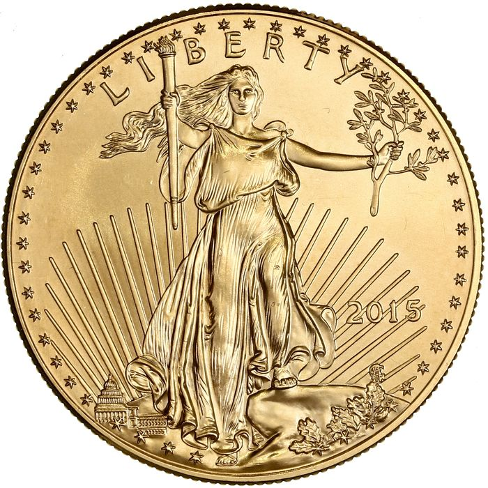 USA - 50 Dollars 2015 - Gold