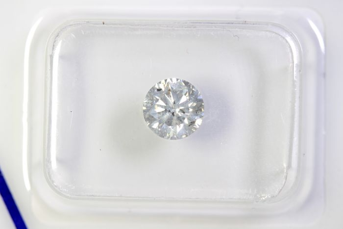 Diamant - 0.73 ct - Brillant - K - I2- * NO RESERVE PRICE *