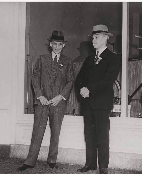 Unknown / Associated Press Photos - Two Pioneer - Henry Ford, Automobile, Orville Wright, Aviation, 1938