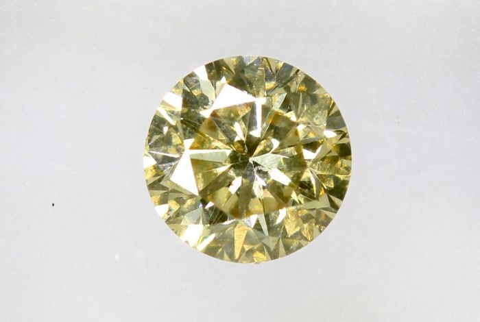 Diamant - 0.29 ct - Brillant -  ( Color Treated ) - No Reserve Price - SI1