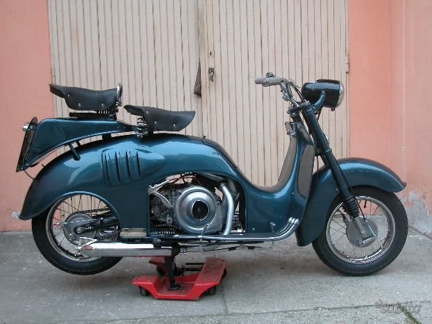ISO moto - Scooter - 125 cc - 1952