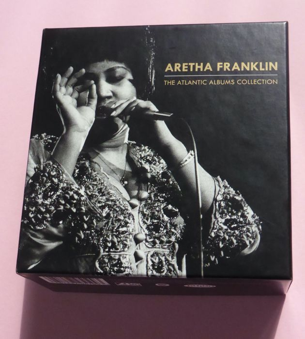 Aretha Franklin - The Atlantic Albums Collection - CD Box set - 2015