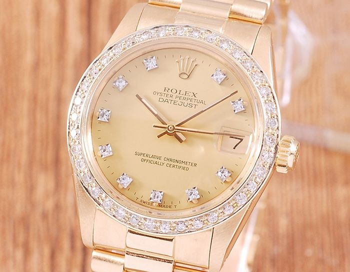 Rolex - Oyster Perpetual Datejust - 6827 - Unisexe - 1980-1989
