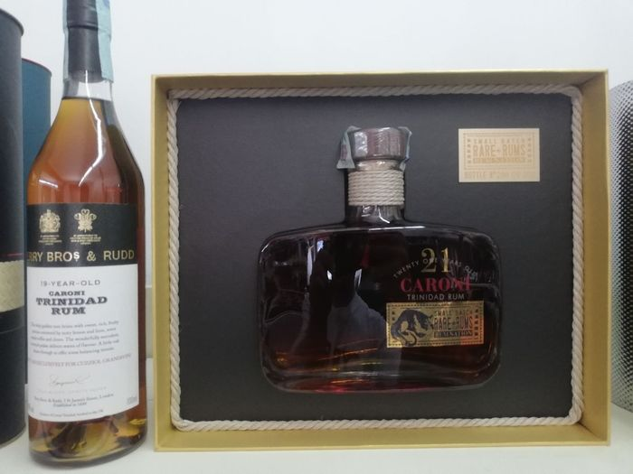 Caroni - Berry Bros. 19 years old, Rum Nation 21 years old 1998 - 70cl - 2 bottles