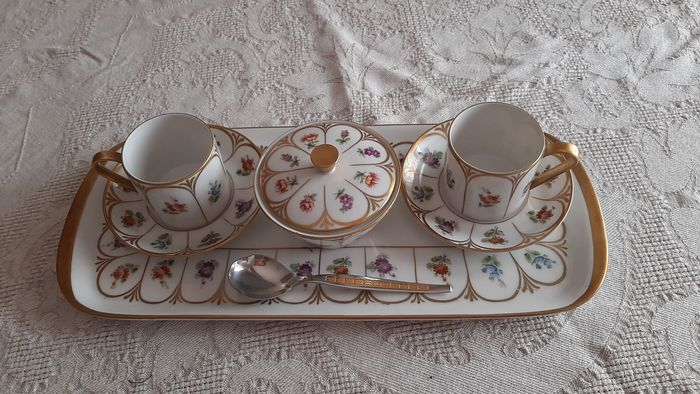 Limoges - Koffieservies - Porselein