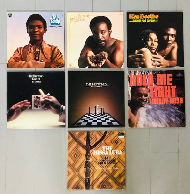 Various Artists/Bands in Soul, The Heptones; Johnny Nash; Ken Boothe; - Différents artistes - Différents titres - LP's - 1968/1980
