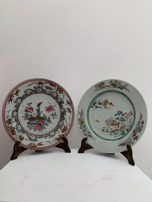 Dish - Porcelain - China - 18th century