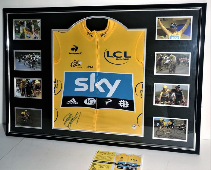 Tour de France - Bradley Wiggins - Trikot(s)