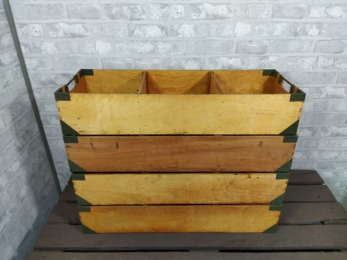 4 Wooden Industrial Boxes (4)