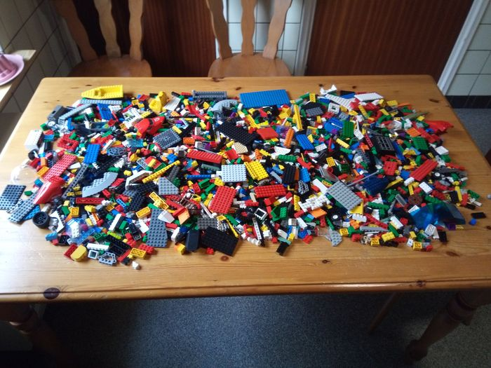 Preview of the first image of LEGO - Assorti - 3.5 kg very nice Lego.