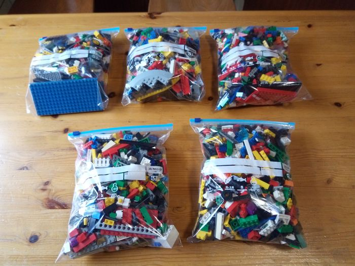 Image 2 of LEGO - Assorti - 3.5 kg very nice Lego