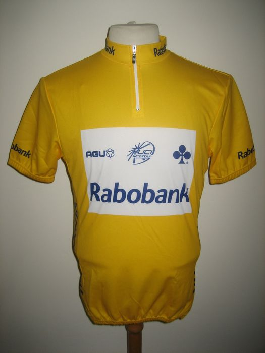 Gele trui - Tour de France - Marc Wauters - 2001 - Radsport-Shirt
