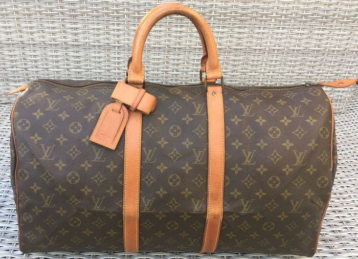 Louis Vuitton - Keepall 50 Old style Weekend bag