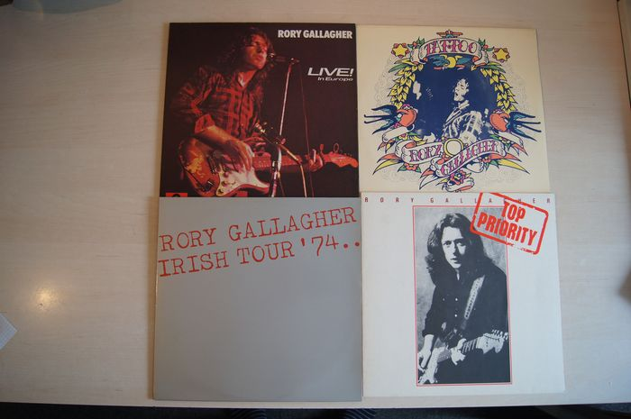 Rory Gallagher, Taste - Multiple titles - LP's - 1970/1979