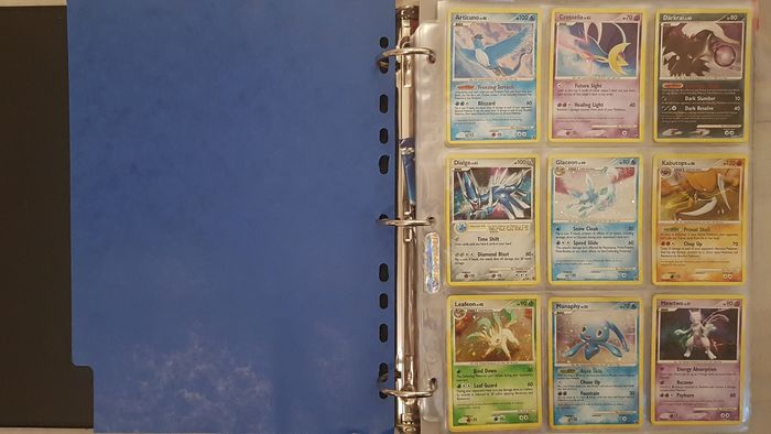 Pokémon - Almost Complete Sets 3 Pokémon Diamond & Pearl Sets Almost complete Read Description