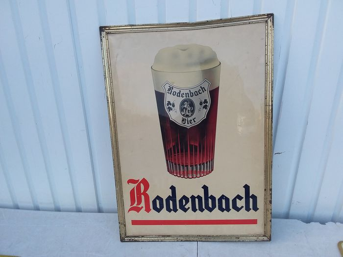 Old plate Rodenbach. (1) - Cellulit