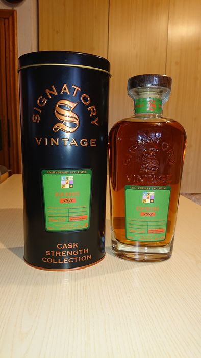 Glenrothes 1997 single cask for Velier Anniversary - Signatory Vintage - b. 2017 - 70cl