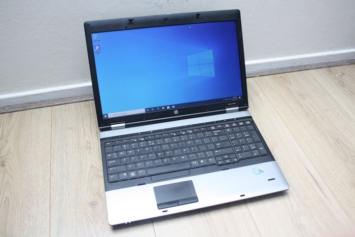 HP ProBook 6550b - Intel core i5 2,4 GHz, 6 GB RAM, 120 GB SAMSUNG SSD, Windows 10 - töltővel