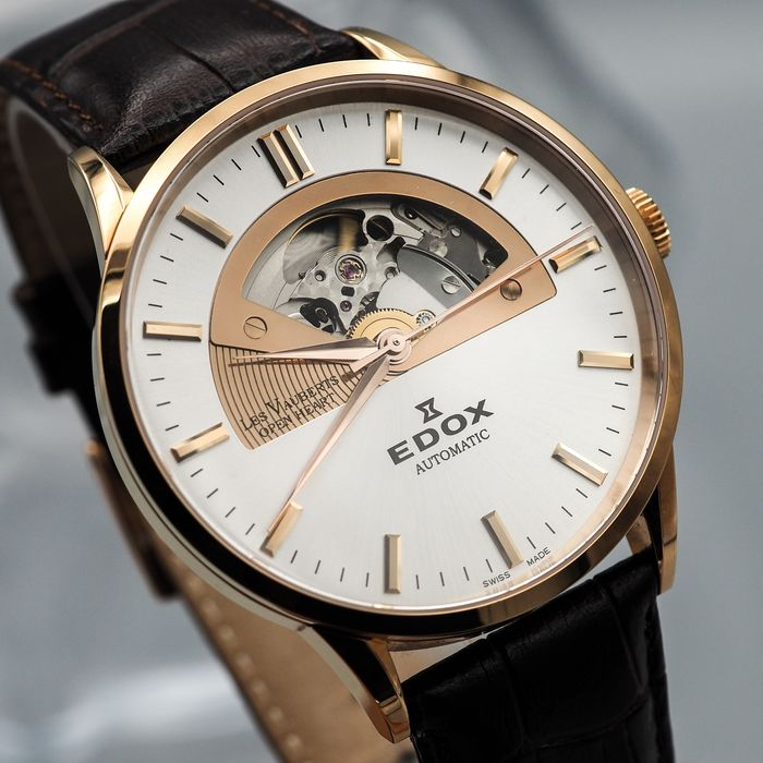 """Edox - Le Vauberts Open Heart Automatic - """"NO RESERVE PRICE"""" 85006 37R AIR - Heren - 2011-heden"""