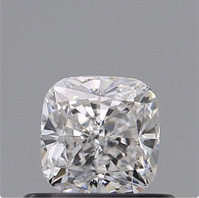 1 pcs Diamond - 0.50 ct - Cushion - F - VVS2