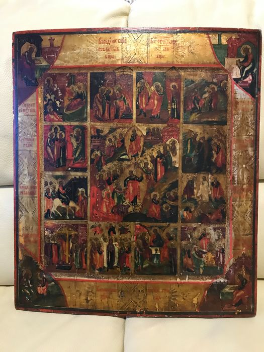Icon - Wood, Feastday - 19th century