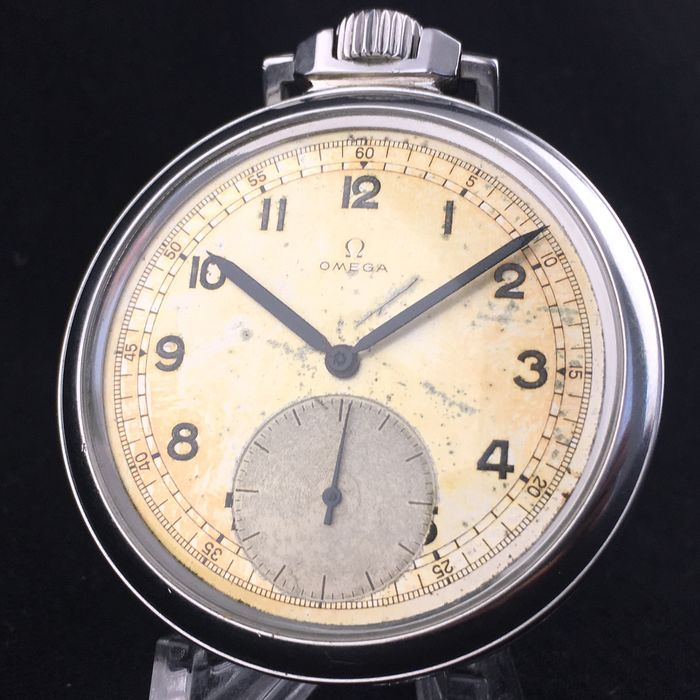 Omega - Omega's first water resistant pocket watch - 1064 - Heren - 1950-1959