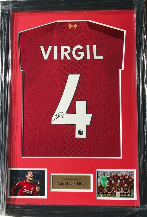 Liverpool FC - Champions Football League - Virgil Van Dijk - Maglietta/e