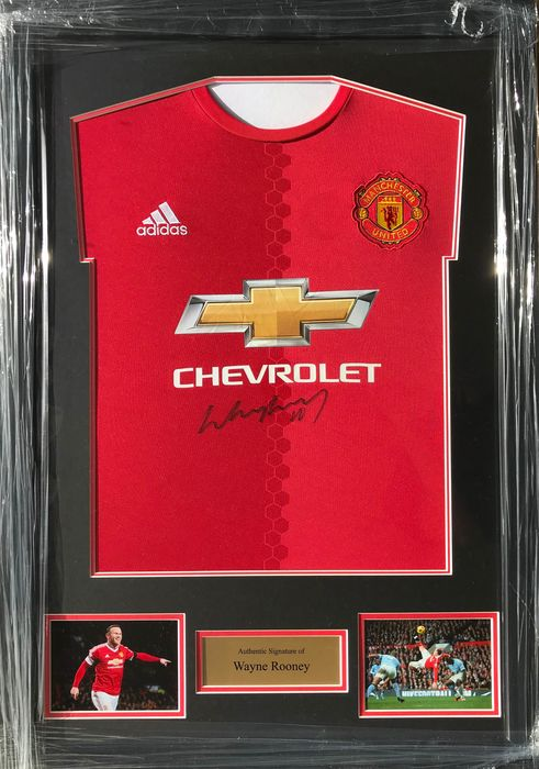 Manchester United - Ligue de Champions - Wayne Rooney - Jersey(s)