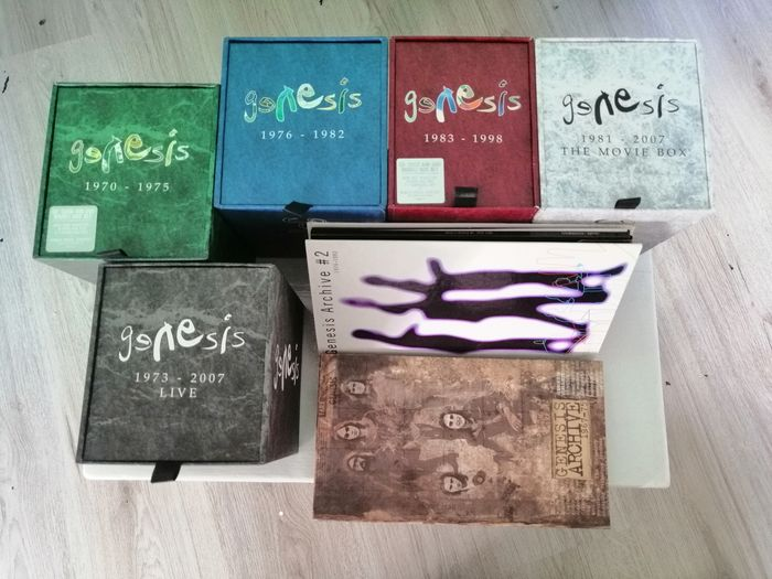 Genesis - The Ultimate Limited 5 DVD/SACD Box-set Collection and 2 Archive CD-set Collection Complete! - Multiple titles - Book, CD Box set, DVD Limited box set, Limited edition, Various media - 1998/2009