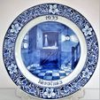 Auktion av holländsk keramik (Delftware)