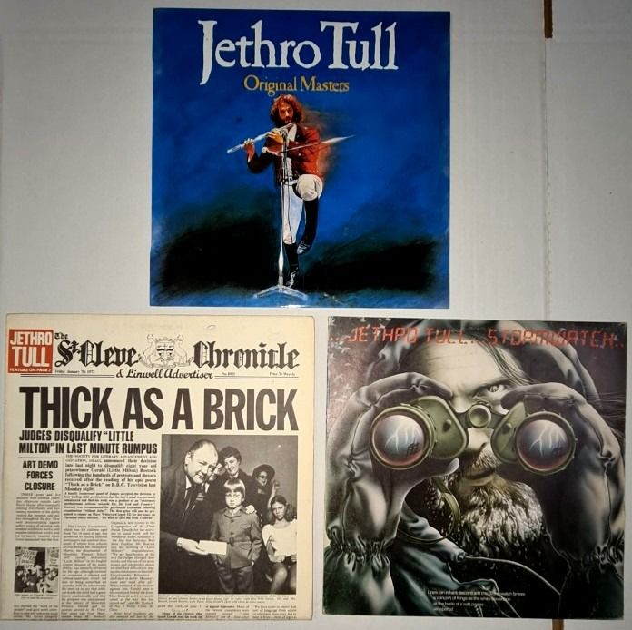 Jethro Tull - Thick As a Brick/Originals Masters/Stormwatch - Multiple titles - LP's - 1972/1985