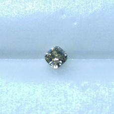 1 pcs Diamant - 0.34 ct - Kudd - fancy brownish yellow - VS2