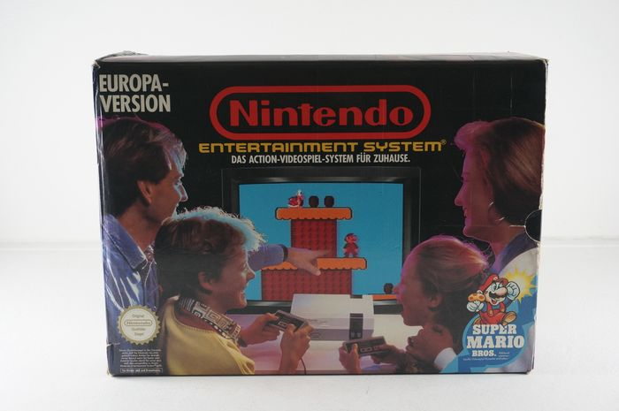 Nintendo, Nes Console Europa Version Boxed Nes - Console - In originele verpakking