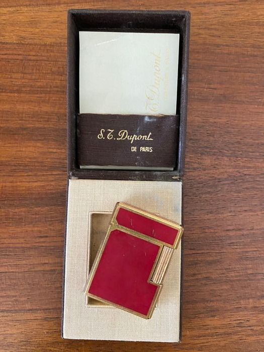S.T. Briquet Dupont de Paris - emballage d'origine
