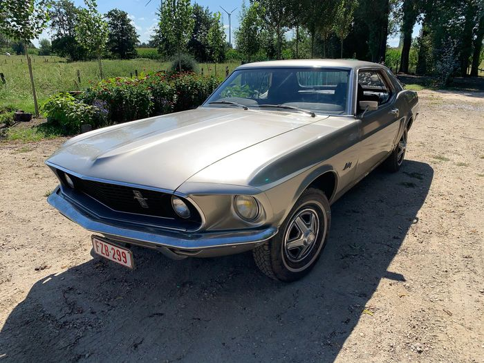 Ford USA - Mustang coupe  - 1969