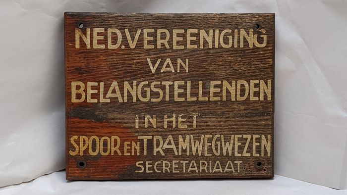 Poster, Sign - Wood