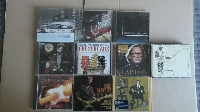 Eric Clapton & Related - Multiple titles - CD's, DVD - 1988/2016