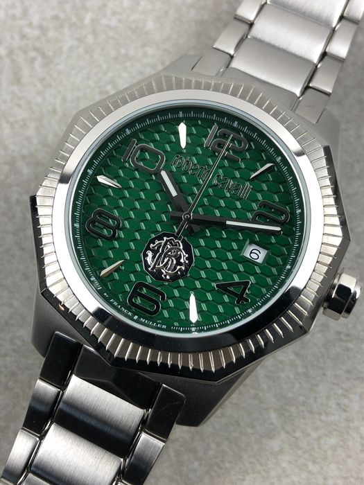 "Roberto Cavalli By Franck Muller - Gents  - RV1G119M0051 ""NO RESERVE PRICE"" - Men - 2011-present"