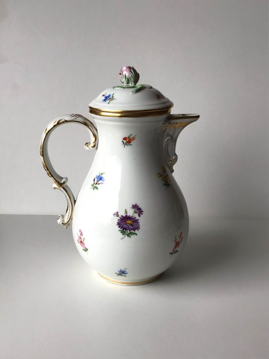Meißen - Coffee pot - Porcelain