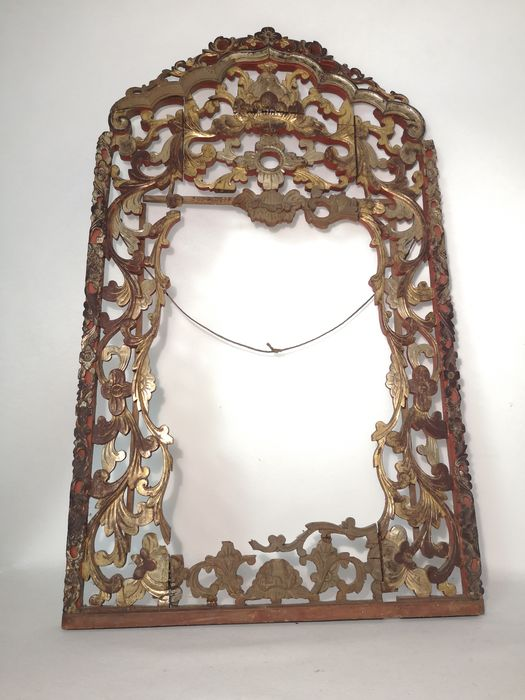 Frame - China - Qing Dynasty - with Floral motives