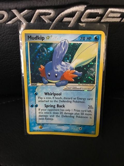 Pokemon international company - Pokémon - Trading card Mudkip Goldstar
