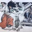 Comics Auction (Original Comic Art - Various Artists)