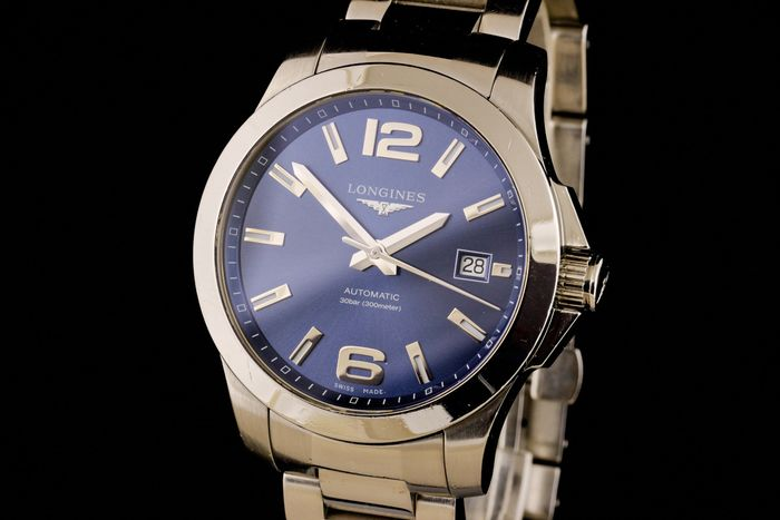 """Longines - Conquest Automatic - """"NO RESERVE PRICE"""" - L3.676.4 - Heren - 2011-heden"""