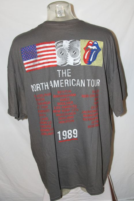 Rolling Stones - North American Tour - Tour Shirt - 1989/1989