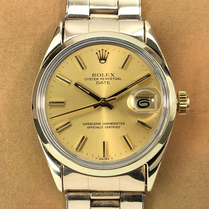 Rolex - Oyster Perpetual Date - 1550 - Unisex - 1970-1979