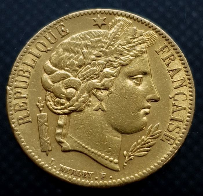 20 Francs 1850-A Ceres - Or