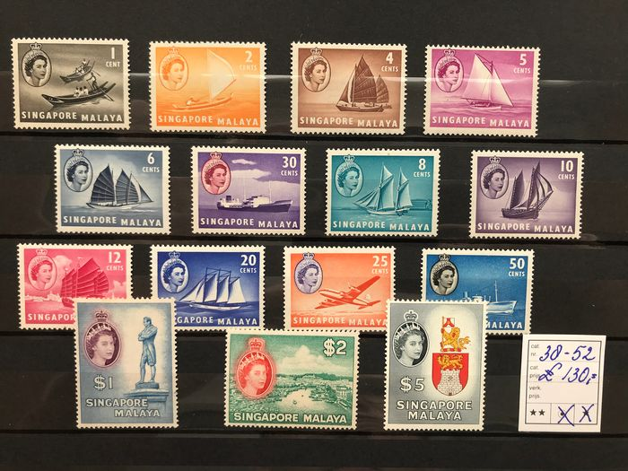 Malaysia 1948/1960 - Stanley Gibbons