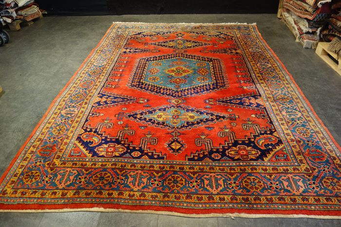 Perser Wiess - Carpet - 355 cm - 235 cm