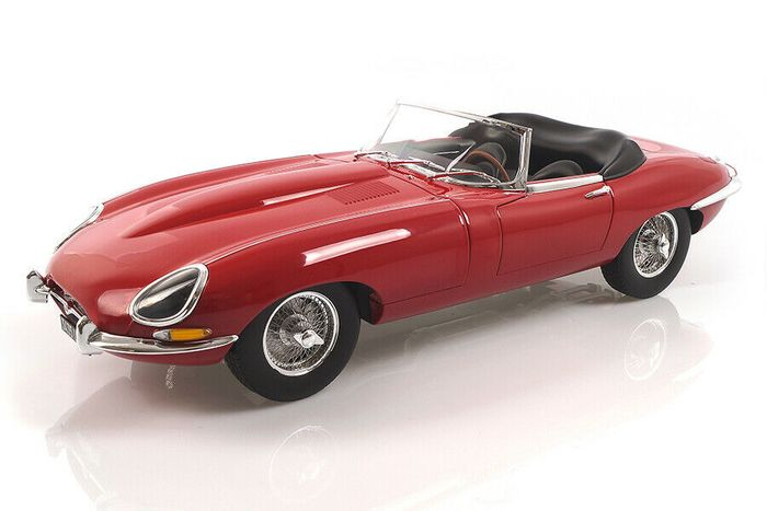 Norev - 1:12 - Jaguar E-Type Cabriolet 1962 - Limited Edition of 750 pcs. (Individually Numbered)