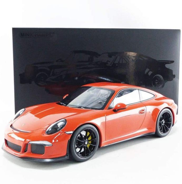 MiniChamps - 1:12 - Porsche 911 R 2016 - Lava Orange